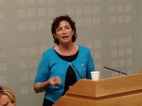 Finola Brennan, Co ordinator NCCWN- Donegal Women's Network
