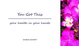 In this month's Women's Live's, Women's Voice' feature Sharon Doherty shares her learning experience on the importance of embracing self care and making small changes to support our health and well being