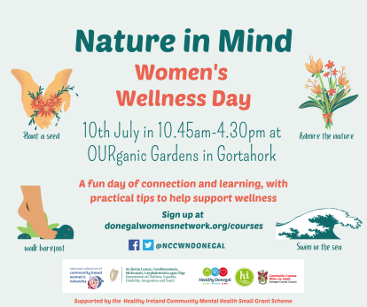 USE NATURE IN MIND WOMENS WELLNESS DAY 10th July 2021