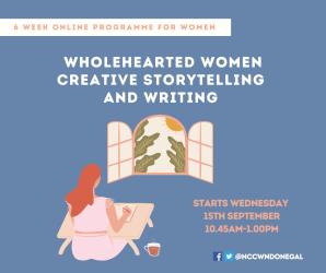 WEBSITE Whole Hearted Women Creative Storytelling programme for Women